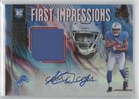 First Impressions Autograph Memorabilia - Kerryon Johnson #/399