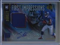 First Impressions Autograph Memorabilia - Saquon Barkley /225