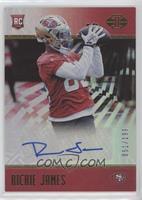 Rookie Signs - Richie James #/199