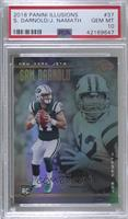 Joe Namath, Sam Darnold [PSA 10 GEM MT]