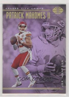 2018 Panini Illusions - [Base] #45 - Patrick Mahomes II, Joe Montana