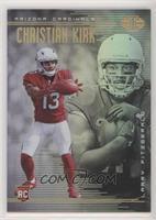 Christian Kirk, Larry Fitzgerald