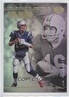 Jim Plunkett, Tom Brady