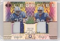 Edgerrin James, Nyheim Hines #/10