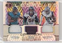 Calais Campbell, DeMarcus Lawrence, Von Miller #/50