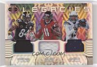 Julio Jones, Antonio Brown, Keenan Allen #/50