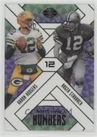 Aaron Rodgers, Roger Staubach /25