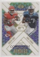 Kareem Hunt, Eddie George /299