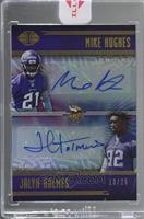 Jalyn Holmes, Mike Hughes /25 [Uncirculated]