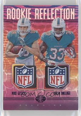2018 Panini Illusions - Rookie Reflection Dual Patch - Purple  RR-GB - Mike  Gesicki a05929b9f