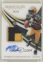 Rookie Patch Autographs - Marquez Valdes-Scantling #/25