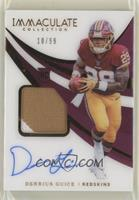 Rookie Patch Autographs - Derrius Guice #/99