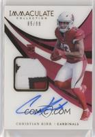 Rookie Patch Autographs - Christian Kirk #/99