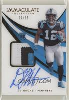 Rookie Patch Autographs - DJ Moore #/99