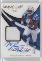 Rookie Patch Autographs - Nyheim Hines #/99