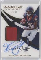 Rookie Patch Autographs - Keke Coutee [EXtoNM] #/99