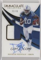 Rookie Patch Autographs - Daurice Fountain #/99
