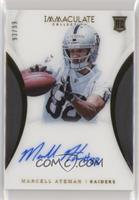 Rookie Autographs - Marcell Ateman /99