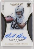 Rookie Autographs - Marcell Ateman #/99