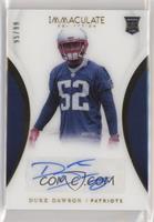 Rookie Autographs - Duke Dawson /99