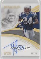 Ty Law #/15