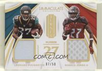 Leonard Fournette, Ronald Jones II #/50