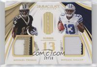 Michael Thomas, Michael Gallup #/50