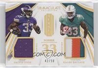 Dalvin Cook, Kalen Ballage #/50
