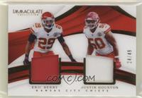 Eric Berry, Justin Houston #/49