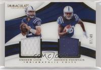 Andrew Luck, Daurice Fountain /49