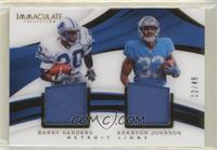 Barry Sanders, Kerryon Johnson #/49