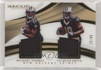 Michael Thomas, Tre'Quan Smith #/49