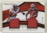 Ronald Jones II, Warrick Dunn #/49