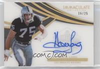 Howie Long #/25