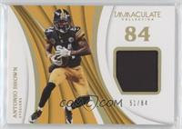 Antonio Brown #/84