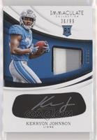 Kerryon Johnson #/99