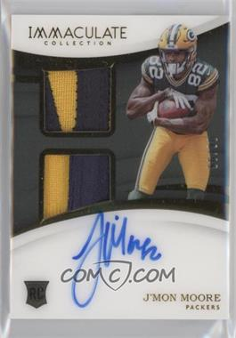 2018 Panini Immaculate Collection - Immaculate Signature Patches Rookie #IS-JM - J'Mon Moore /99