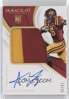 Immaculate Signature Rookie Patches - Allen Lazard /25
