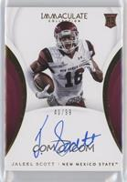 Rookie Autographs - Jaleel Scott /99