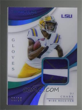 2018 Panini Immaculate Collection Collegiate - Immaculate Gloves - Prime #17 - DJ Chark /84 - Courtesy of COMC.com