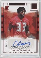 Rookie Autographs - Carlton Davis /49