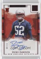 Rookie Autographs - Duke Dawson /49