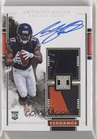 Elegance Rookie Helmet and Nameplate Autos - Anthony Miller [EX to NM…