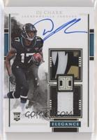 Elegance Rookie Helmet and Nameplate Autos - DJ Chark Jr. #/25