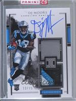Elegance Rookie Helmet and Patch Autos - DJ Moore [Uncirculated] #/75