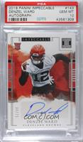 Rookie Autographs - Denzel Ward /75 [PSA 10 GEM MT]