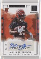 Rookie Autographs - Malik Jefferson #/75
