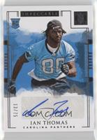 Rookie Autographs - Ian Thomas #/75