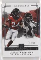 Devonta Freeman #/75