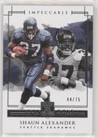 Shaun Alexander [EX to NM] #/75